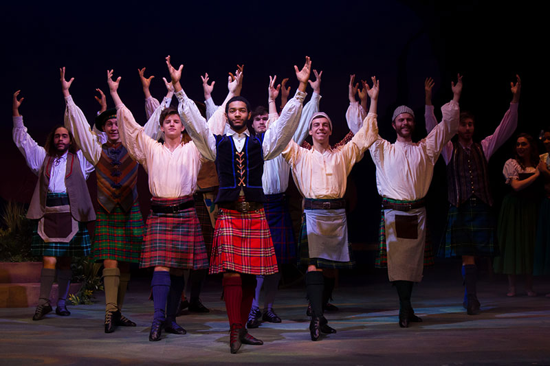 Photo of the men of Brigadoon.