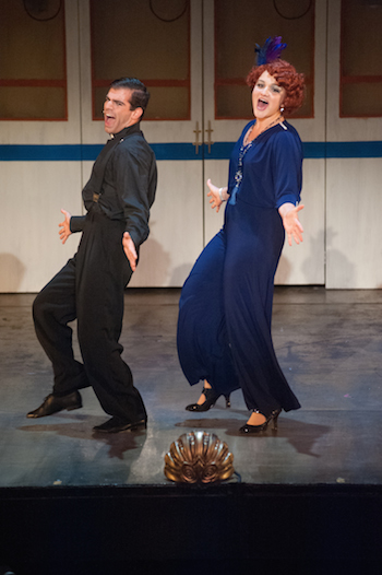 Adam Mandala and Alison Boyle in ANYTHING GOES.