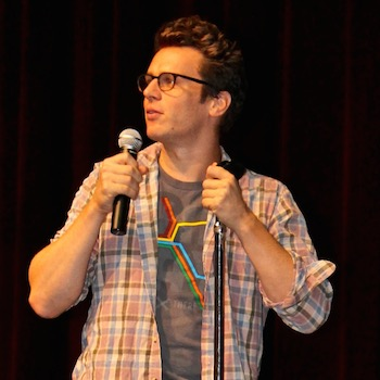 Jonathan Groff at Temple University