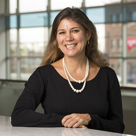 Headshot of Nora M. Alter, professor