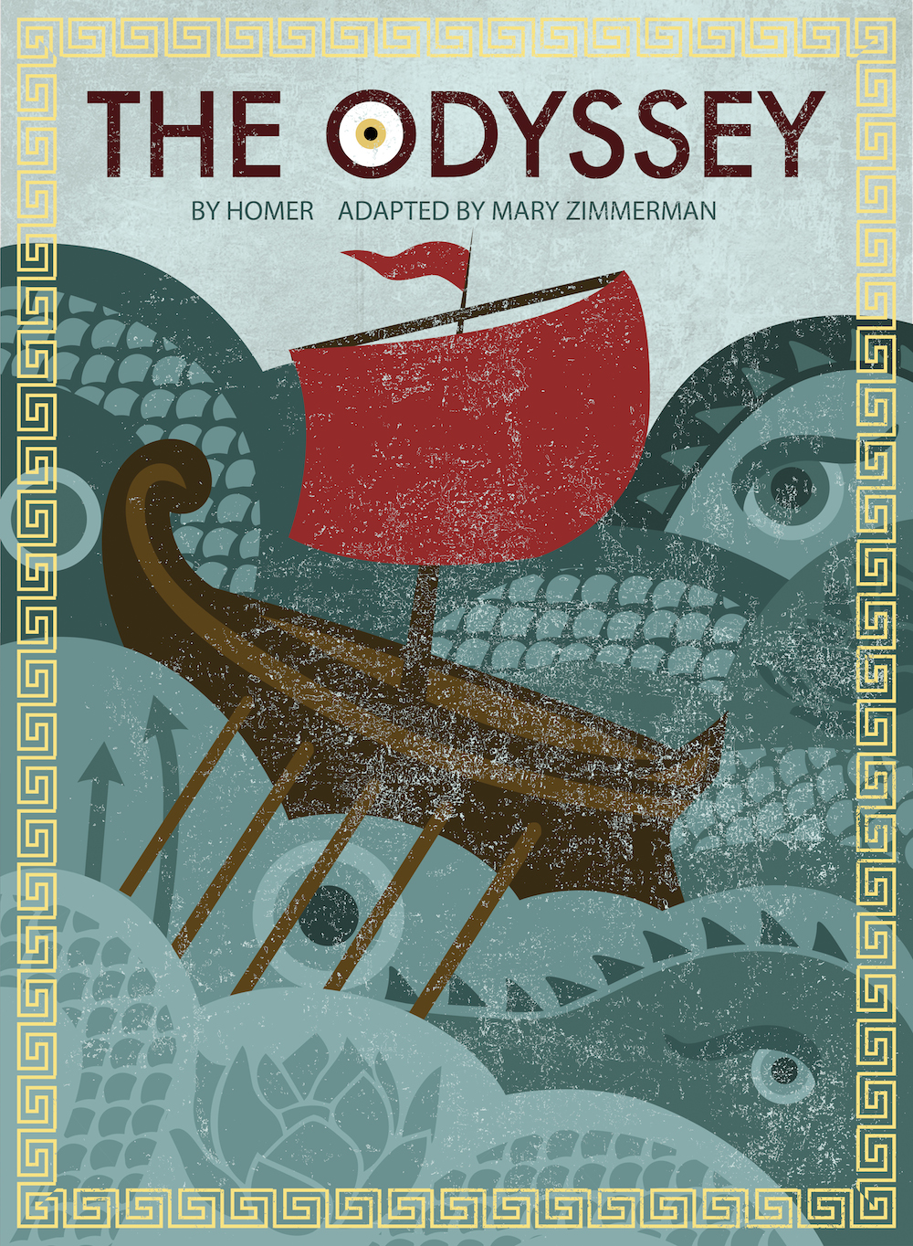 Poster Art for The Odyssey with title