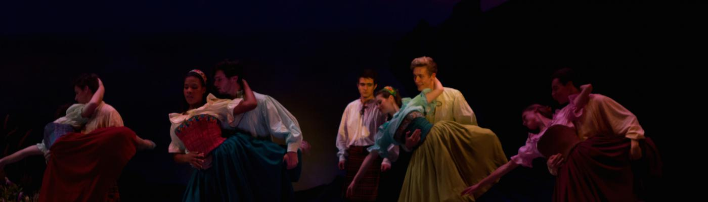 Temple Theater Students Perform Brigadoon