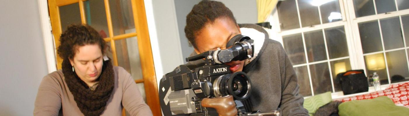 FMA Student with Video Camera
