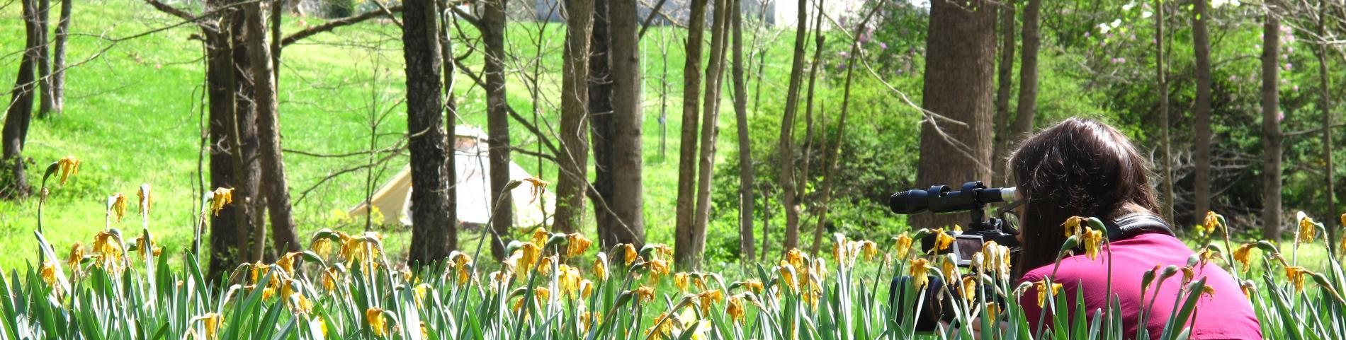 FMA Student Capturing Nature on Film