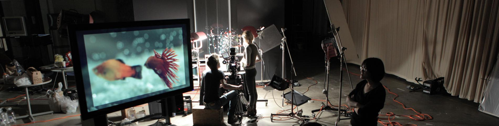 FMA Students Recording Live Motion