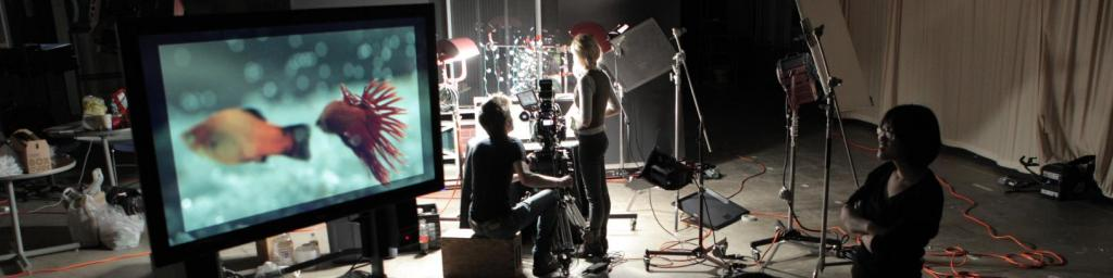 FMA Students Recording Live Motion