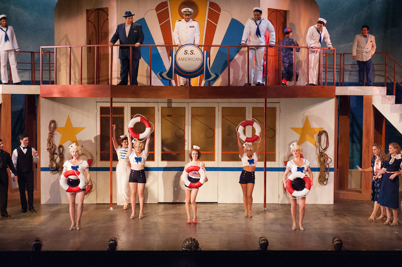 ANYTHING GOES Cast