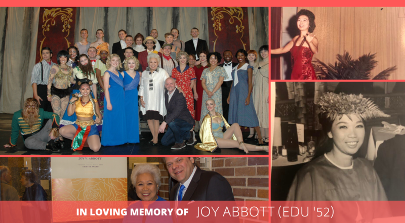 In loving memory of Joy Abbott