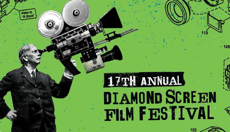 17th Annual Diamond Screen Film Festival Signage