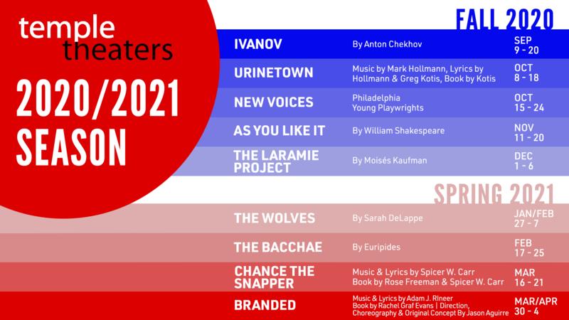 Temple Theaters - 2020-21 season
