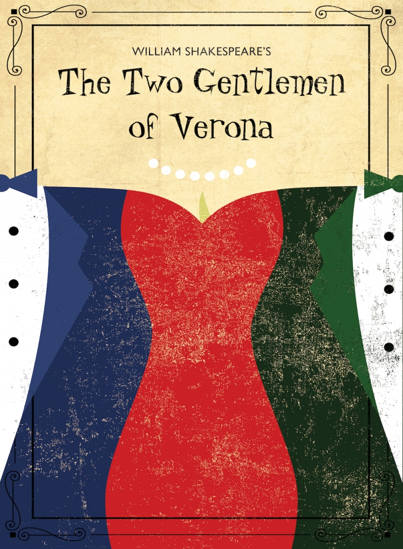 Poster Art for Two Gentlemen