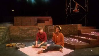 Rehearsal photo of I USED TO WRITE ON WALLS