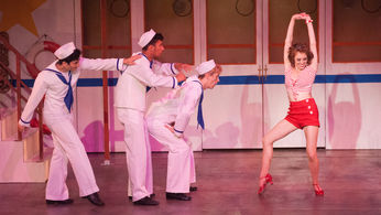 Photo of Mary Guarnieri as Erma in ANYTHING GOES