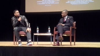 Benny Boom and Aaron X. Smith at TPAC