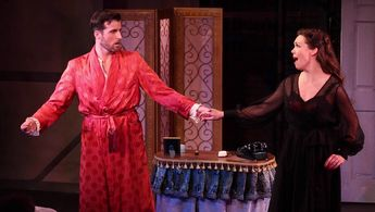 Sean Thompson & Jennie Eisenhower in KISS ME KATE