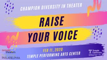 Raise your voice ad