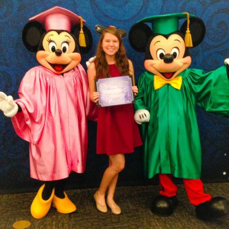 Ali Caiazzo in the Disney College Program