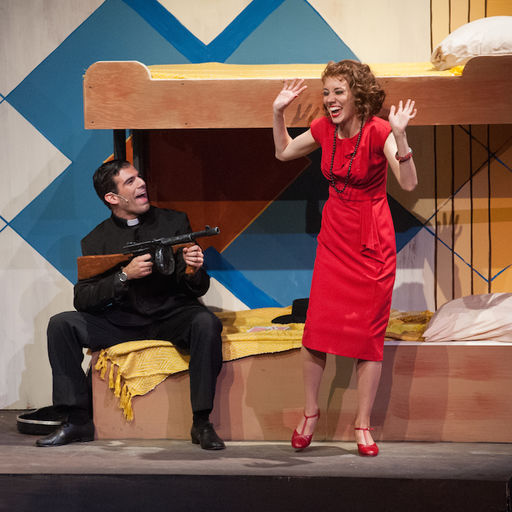 Adam Mandala and Mary Guarnieiri in ANYTHING GOES