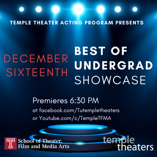 Fall 2020 Best of Undergrad showcase