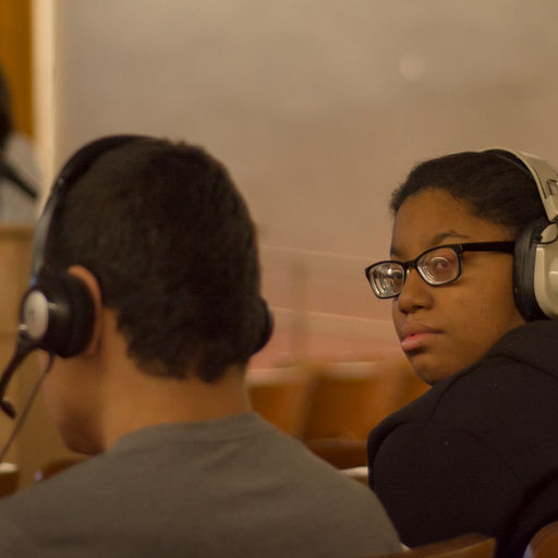 Overbrook School for the Blind Picture of Audio Description