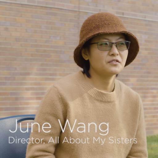 """Featured Image for Interview with Qiong """"June"""" Wang (MFA '22) - All About My Sisters"""