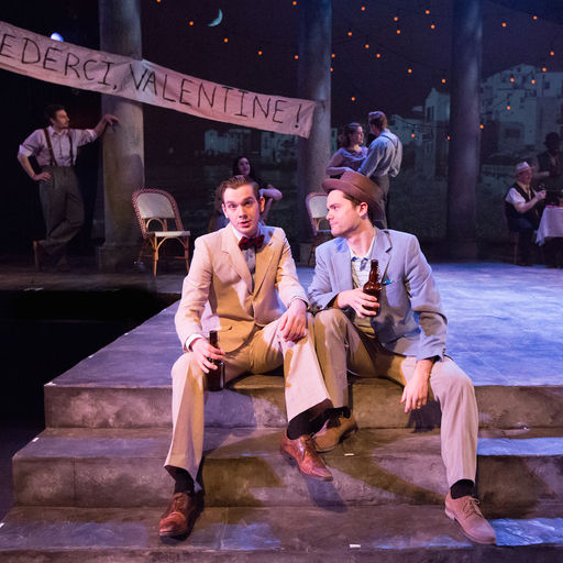 Actors in TWO GENTLEMEN OF VERONA