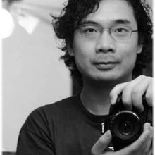 Haitao Gou with camera