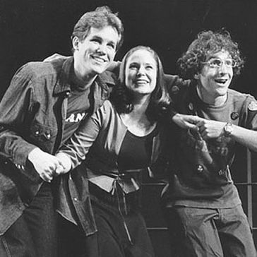 The 1990 Arena Stage cast of Merrily We Roll Along