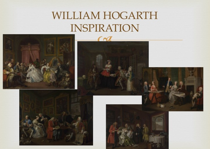 William Hogarth inspiration